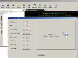 start an SSH server on Windows